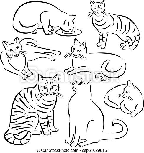 Cat Line Designs-Set 3 - csp51629616
