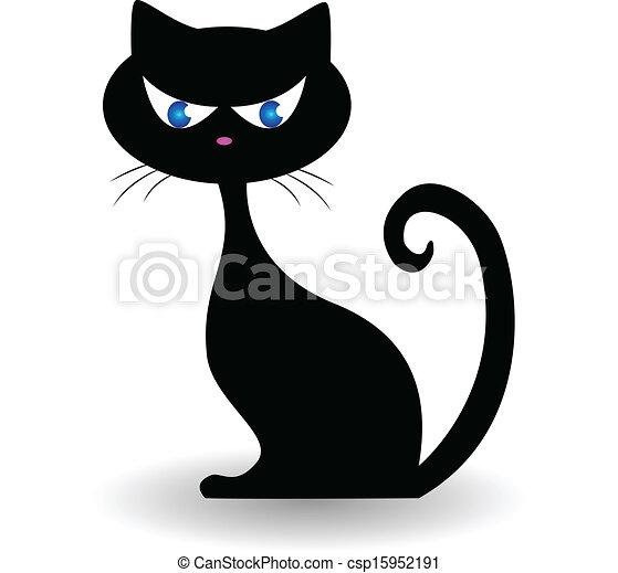 Cat Logo Vector Black Cat Logo Vector