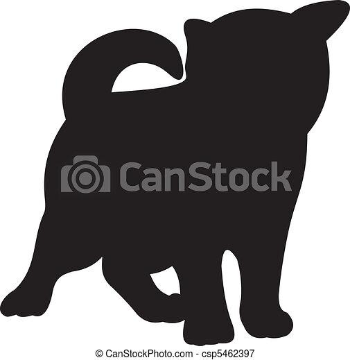 Cat vector - csp5462397