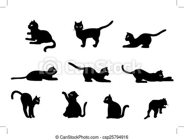 Cat Vector - csp25794916