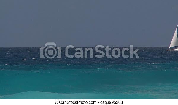 catboat in rough sea part I