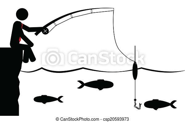 Man catching fish clipart Man fishing clipart at getdrawings free download    Maribelle.baebaebox.com