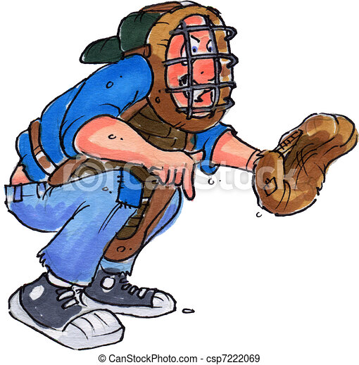 A Boy With Catchers Gear Playing Baseball