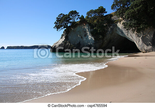 Cathedral Cove - csp4765594