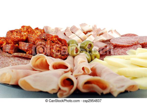 catering food close - csp2954837
