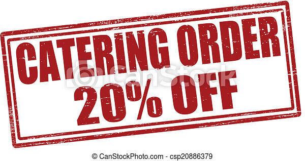 Catering order - csp20886379