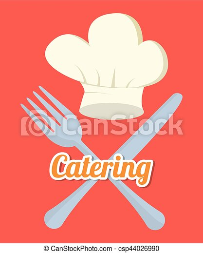 catering related icons emblem - csp44026990