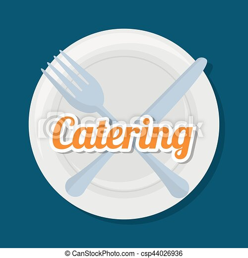 catering related icons emblem - csp44026936
