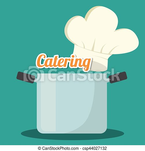 catering related icons emblem - csp44027132