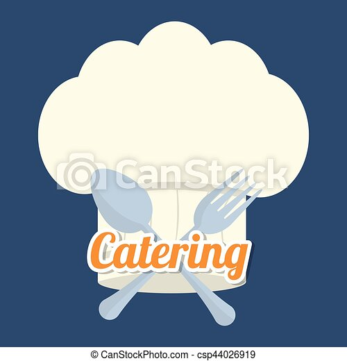 catering related icons emblem - csp44026919