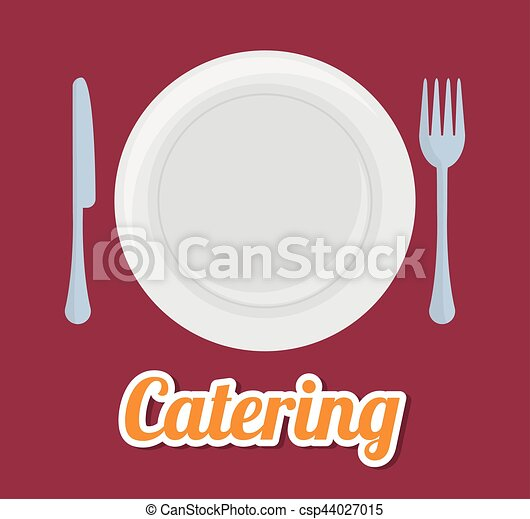 catering related icons emblem - csp44027015