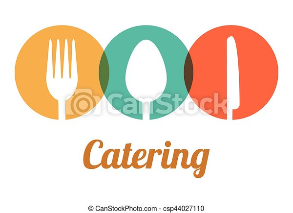 catering related icons emblem - csp44027110
