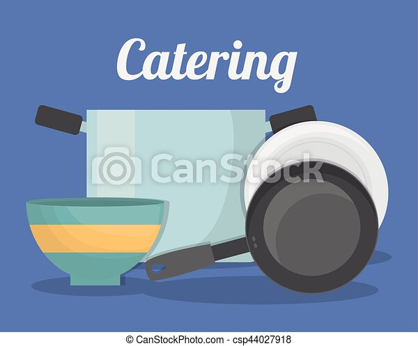 catering related icons emblem - csp44027918