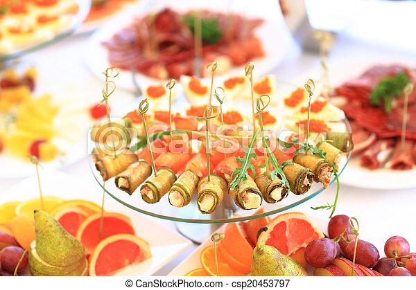catering table set service  - csp20453797