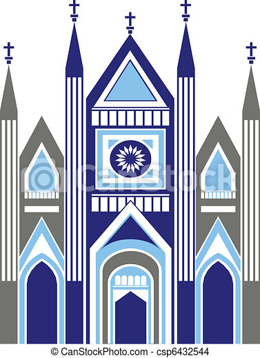 cathedral church as art graphic illustration vector rh canstockphoto com barcelona cathedral clipart st basil's cathedral clipart free