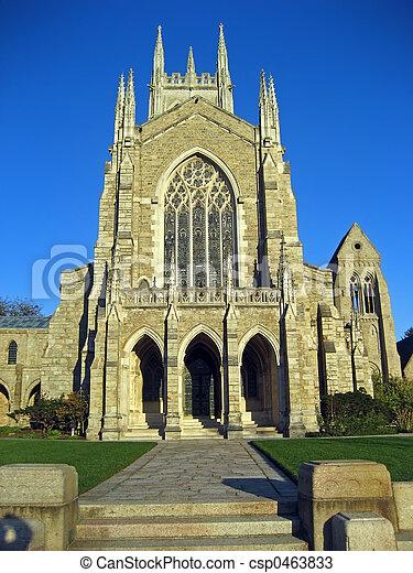 Cathedral Facade - csp0463833