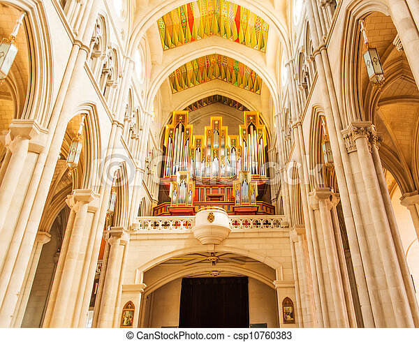 Cathedral of Almudena - csp10760383