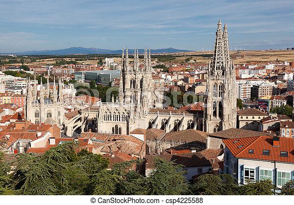 Cathedral of Burgos, Castilla y Leon, Spain  - csp4225588