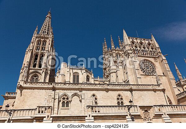 Cathedral of Burgos, Castilla y Leon, Spain - csp4224125