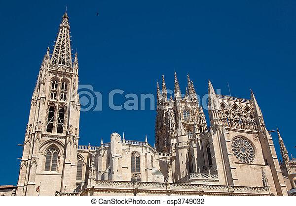 Cathedral of Burgos, Castilla y Leon, Spain - csp3749032