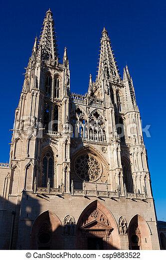 Cathedral of Burgos, Castilla y Leon, Spain - csp9883522