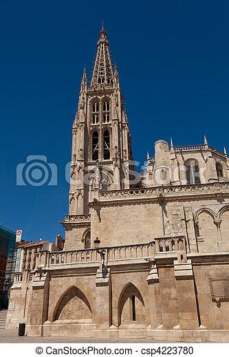 Cathedral of Burgos, Castilla y Leon, Spain - csp4223780