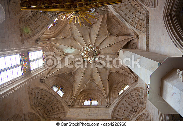 Cathedral of Burgos, Castilla y Leon, Spain  - csp4226960
