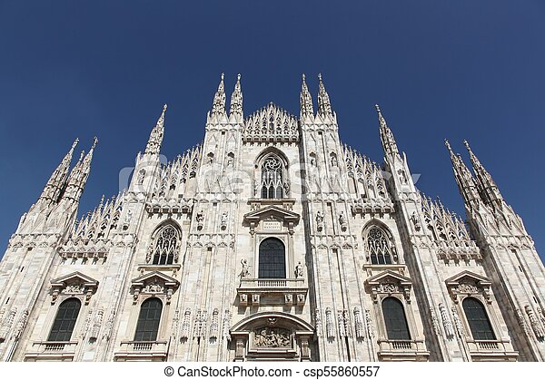 Cathedral of Milan, Italy - csp55860557
