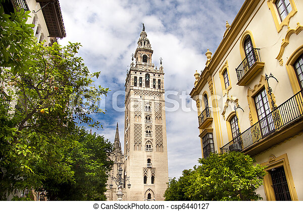 Cathedral of Seville, Spain - csp6440127