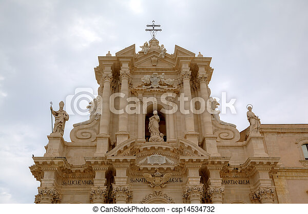 Cathedral of Siracusa.  - csp14534732