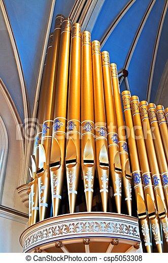 Cathedral organ pipes - csp5053308