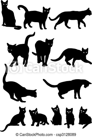 Cats - csp3128089