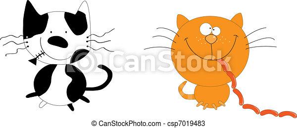 Cats - csp7019483