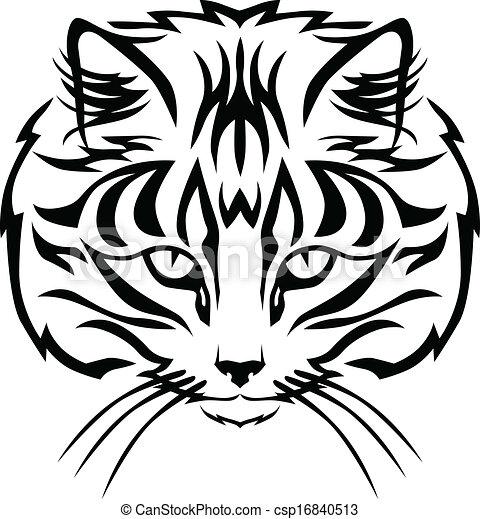 Cats muzzle - csp16840513
