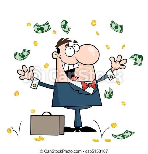 Hombre de negocios caucásico - csp5153107