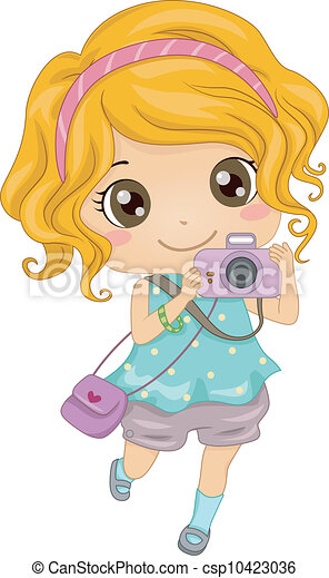Caucasian photographer. Illustration of a young caucasian ...  Caucasian photo...