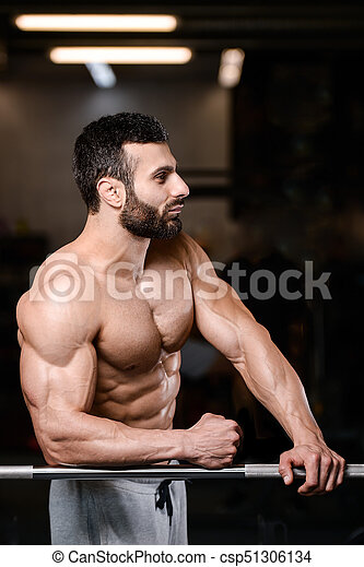 Sexy men working out