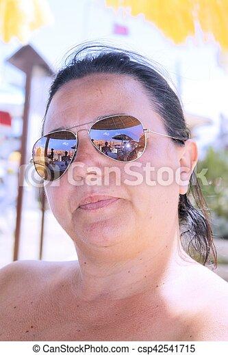 Caucasian woman - csp42541715