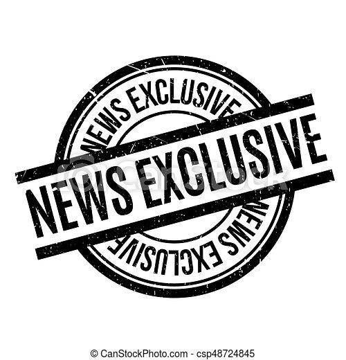 Noticias exclusivas del sello de goma - csp48724845