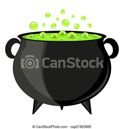 black cauldron witches potion for halloween clip art vector search rh canstockphoto com witch cauldron clipart cauldron clipart free