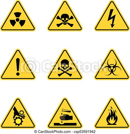 Caution Danger Sign Hazard Warning Signs Danger And Police Line