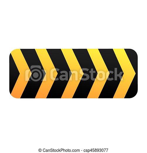 caution ribbon sign icon vector illustration design vectors rh canstockphoto com