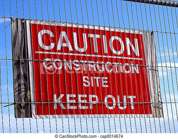 Caution Sign - csp0014674