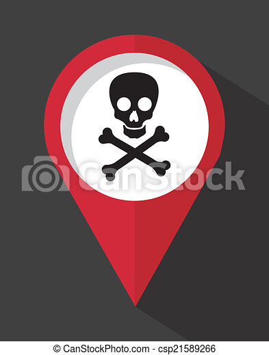 caution signal over gray background vector illustration