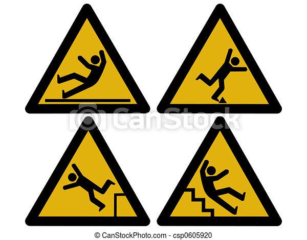 Caution signs - csp0605920