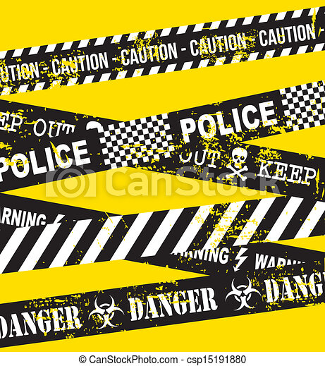 caution tape over yellow background vector illustration rh canstockphoto com Caution Tape Transparent Background caution tape vector