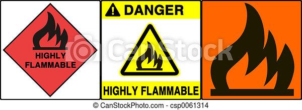 Caution/warning sign - csp0061314