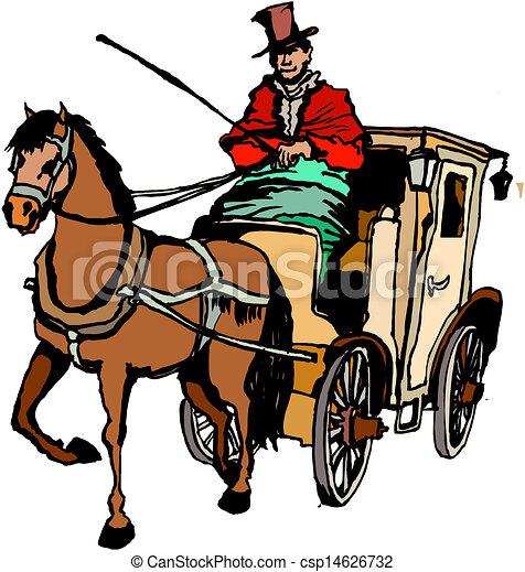 cavalo, treinador - csp14626732
