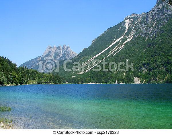 Cave del Predil lake - csp2178323