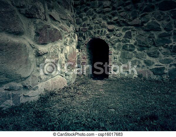 Cave Entrance Background